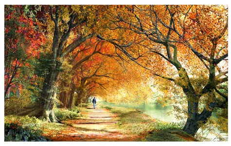 1000 pieces -  Dominic Davison - Forever Autumn
