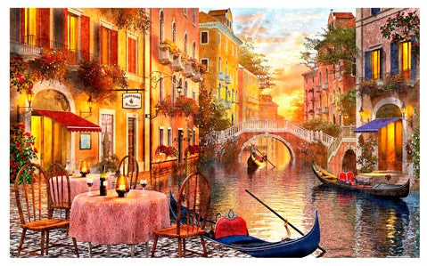 1000 pieces - Dominic Davison - Venetian Sunset