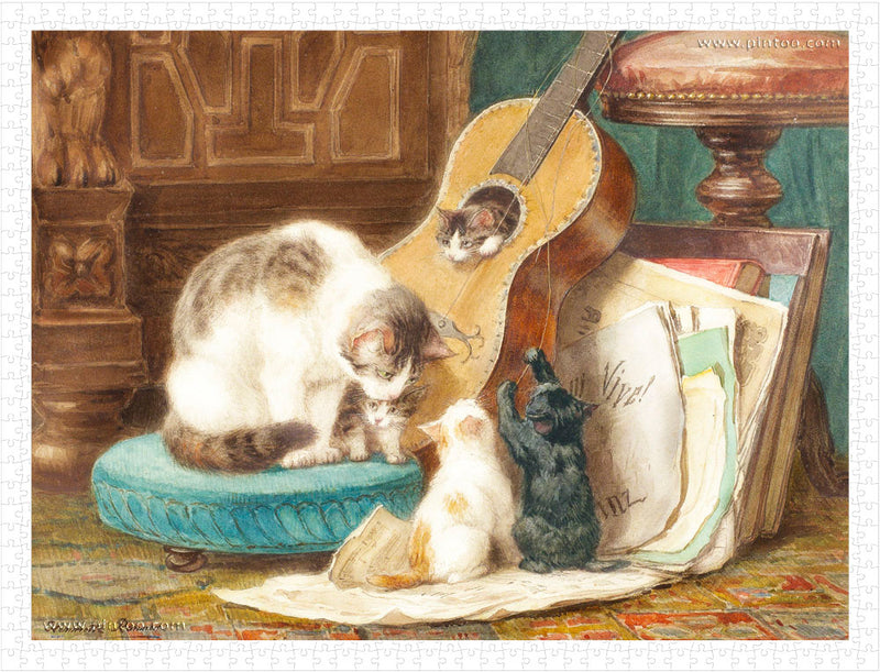 1200 pieces - Henriette Ronner - The Harmonists