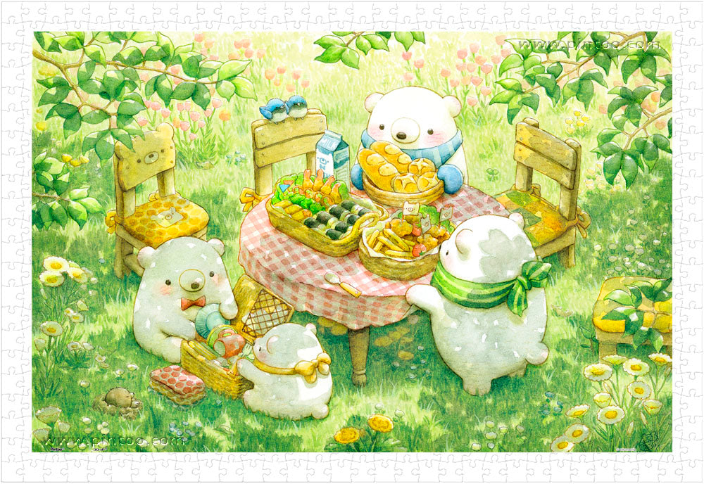 600 pieces - ちっぷ - Picnic Time