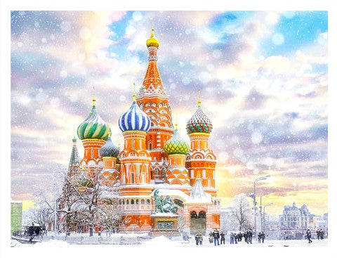 1200 pieces - Saint Basil's Cathedral, Russia