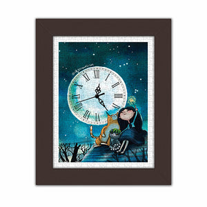 300 pieces - Puzzle Clock - Starry Starry Night