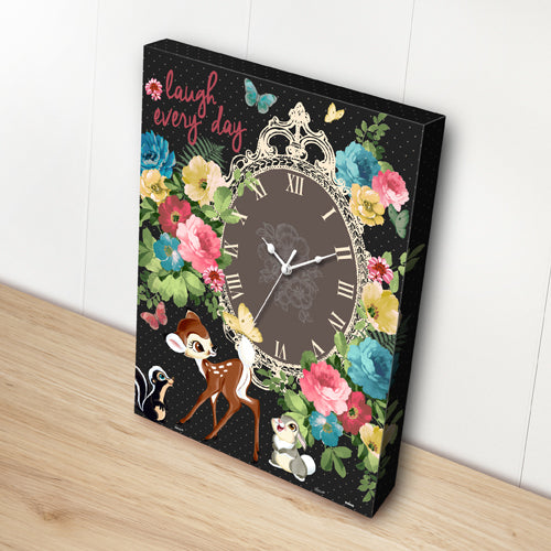 Puzzle Canvas Clock - Bambi