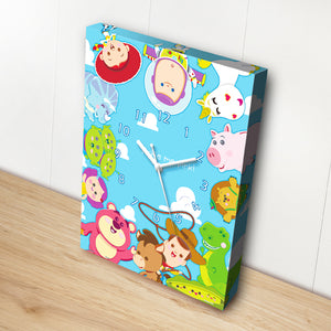 Puzzle Canvas Clock - Toy Story