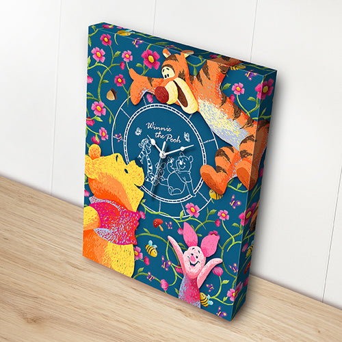 Puzzle Canvas Clock (366 pieces) - Winnie the Pooh