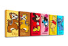 Puzzle Canvas Set (720 pieces) - Mickey Mouse Family - Hello, My Friends