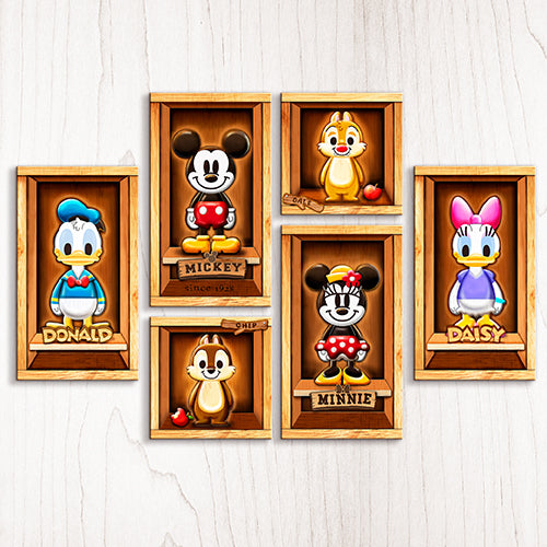 Puzzle Canvas Set (528 pieces) - Mickey & Friends