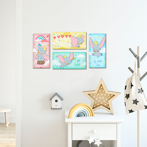 Puzzle Canvas Set (480 pieces) - Dumbo - Happy Soaring