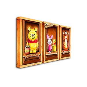 Puzzle Canvas Set (312 pieces) - Winnie The Pooh - Classic Collection