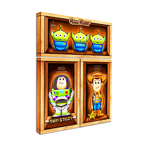 Puzzle Canvas Set (328 pieces) - Toy Story Classic Collection