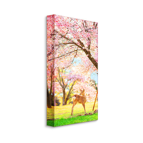 Puzzle Canvas (120 pieces) - Season of Cherry Blossoms - Nara, Japan