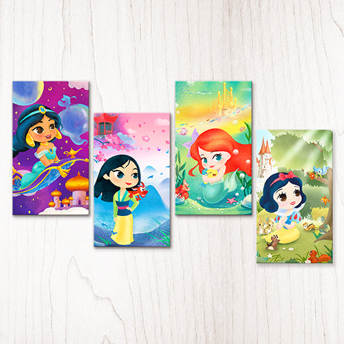 Puzzle Canvas Set (416 pieces) - Sweet Princesses