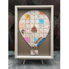Hot Air Balloon Guestbook Puzzle