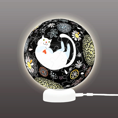 J1020 Pintoo Puzzle Sphere Light - Dream Cat
