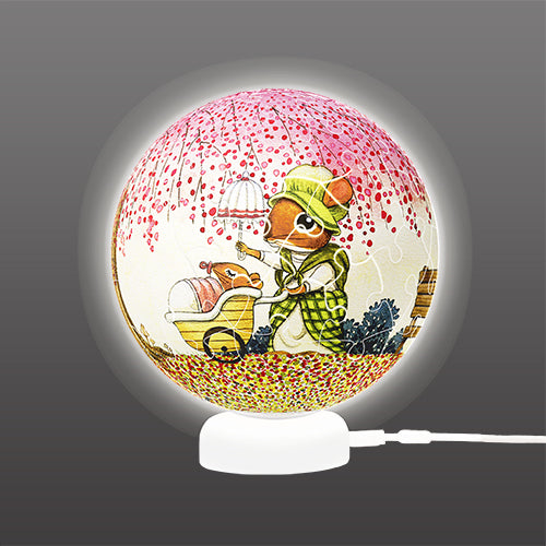 J1078 Pintoo Puzzle Sphere Light - Happy Reading