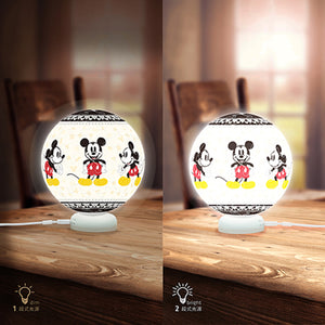J1091 Pintoo Jigsaw Puzzle Sphere Light Delightful Mickey Mouse