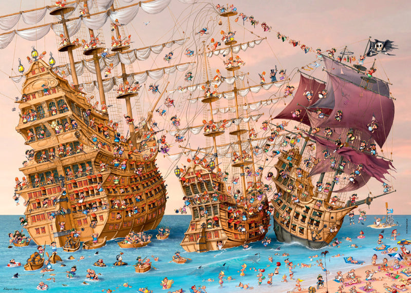 Heye Jigsaw Puzzle 1000 pieces_Corsair (Ships)