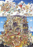 Heaven and Hell Jigsaw Puzzle (1500 pieces) - Heye