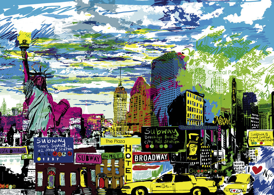 Jigsaw Puzzle 1000 pieces: I Love New York