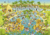Jigsaw Puzzle 1000 pieces: Nile Habitat