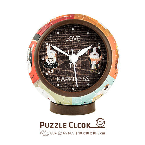 Puzzle Clock - Nan Jun - Love Key