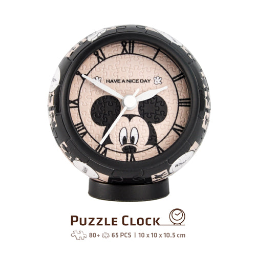 Puzzle Clock (145 pieces) - Mickey & Friends - Brand New Day