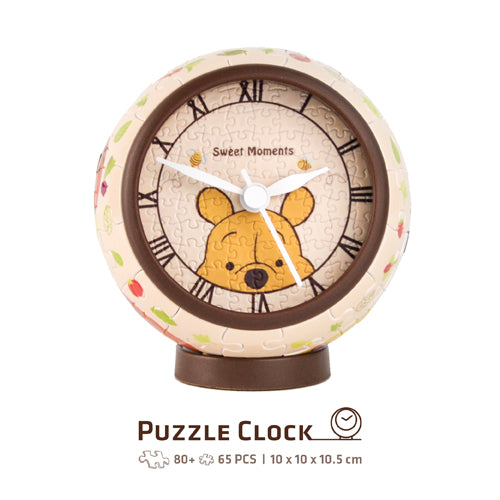 Puzzle Clock (145 pieces) - Winnie the Pooh - Sweet Time