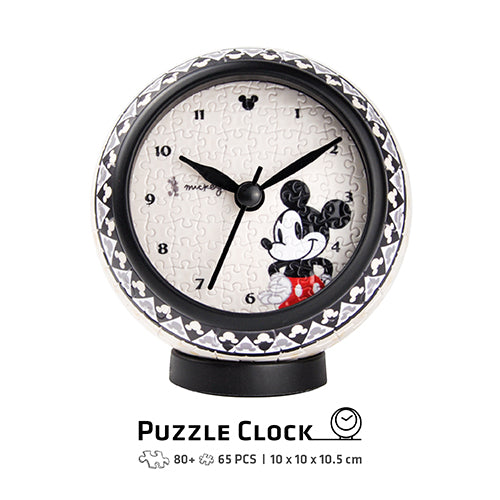 Puzzle Clock (145 pieces) - Delightful Mickey Mouse