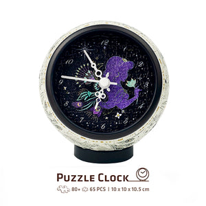 Puzzle Clock (145 pieces) - Aladdin - Magic Realm