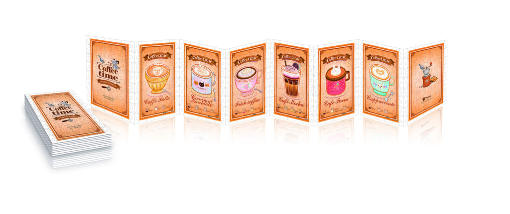 Coffee Collection 320 pcs jigsaw puzzle pintoo