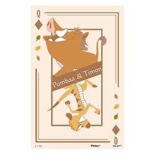 40 pieces - Pumbaa & Timon