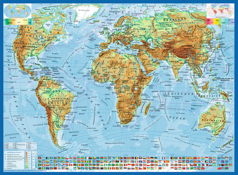 300 XXL pieces - Political Map Of The World