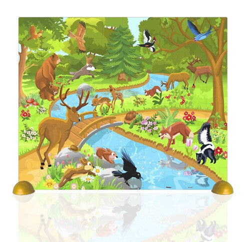 Junior 80 pieces - Animals in the Forest