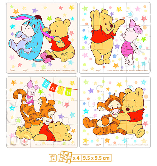 Junior 36 pieces - Winnie the Pooh - Pooh and Friends' Happy Childhood