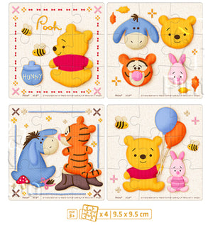 Junior 36 pieces - Winnie the Pooh - Pooh and Friends