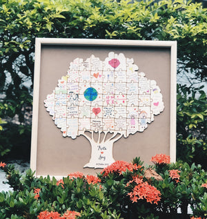 Tree Guestbook Puzzle