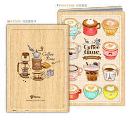 Puzzle Notebook Cover (329 pieces) - Cafe Shop