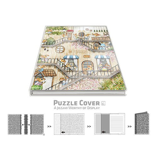 Puzzle Notebook Cover - SMART - The Tree House