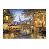 Puzzle Notebook Cover - Evgeny Lushpin - Twilight Reflections