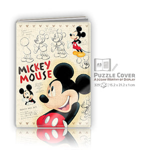 Mickey Mouse Puzzle Notebook Cover