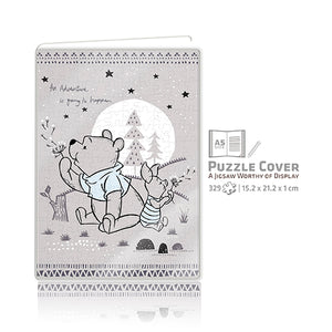Winnie the Pooh Puzzle Notebook Cover