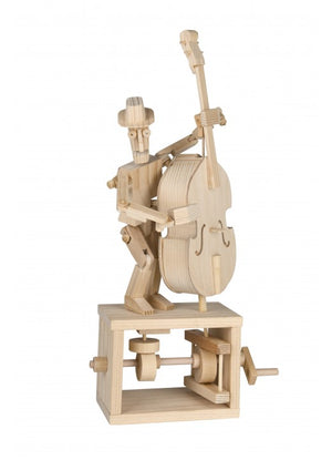 Mechanical Model: Double Bass Player Kit