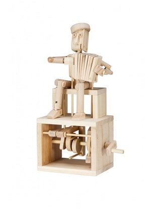 Mechanical Model: Accordion Player Kit