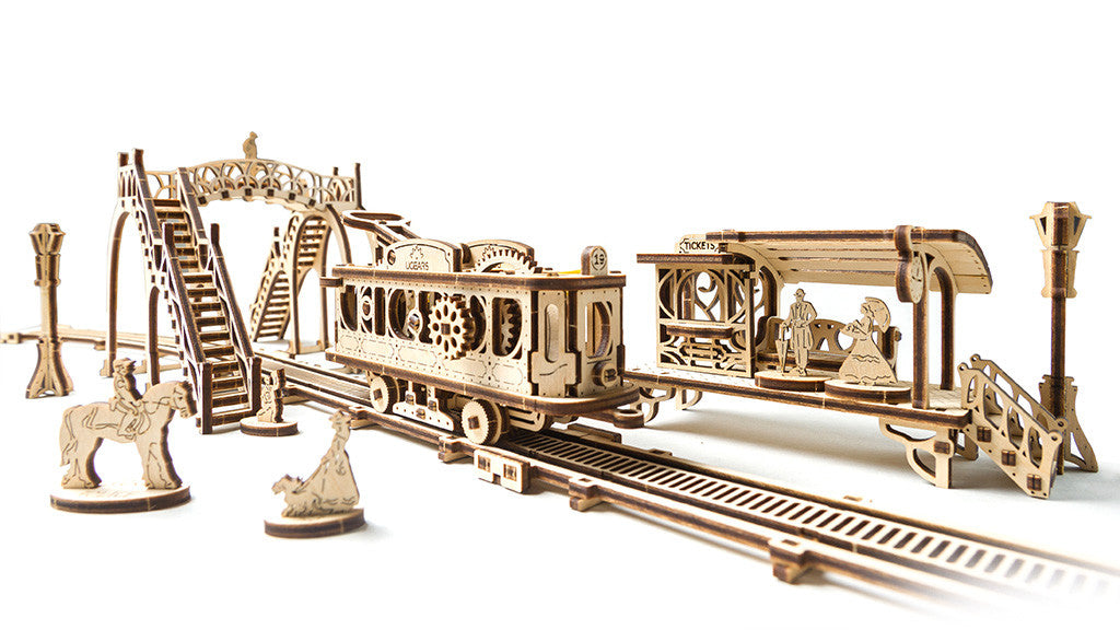 Mechanical Model - Tram Line