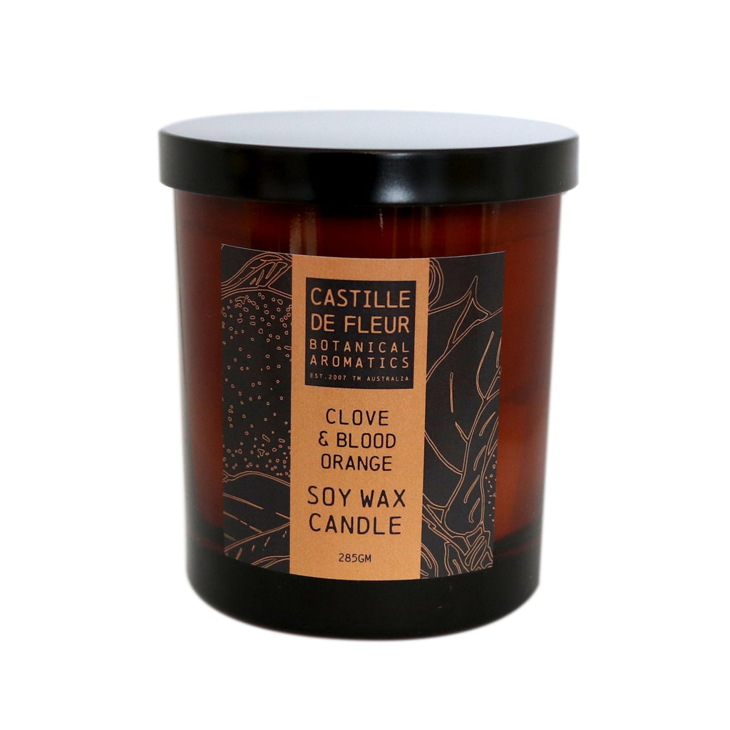 Clove & Blood Orange Candle (285gm)