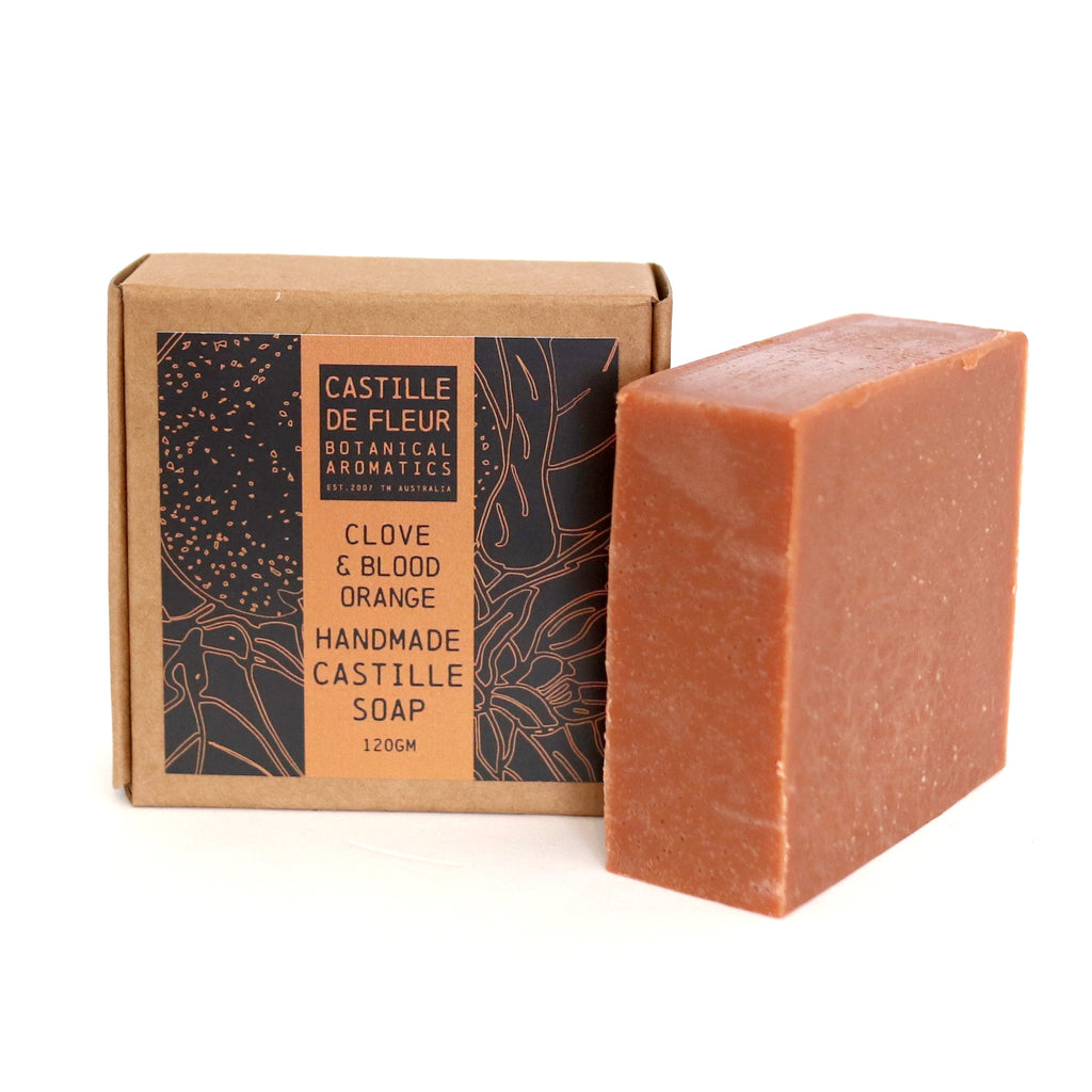 Clove & Blood Orange Castille Soap (120gm)