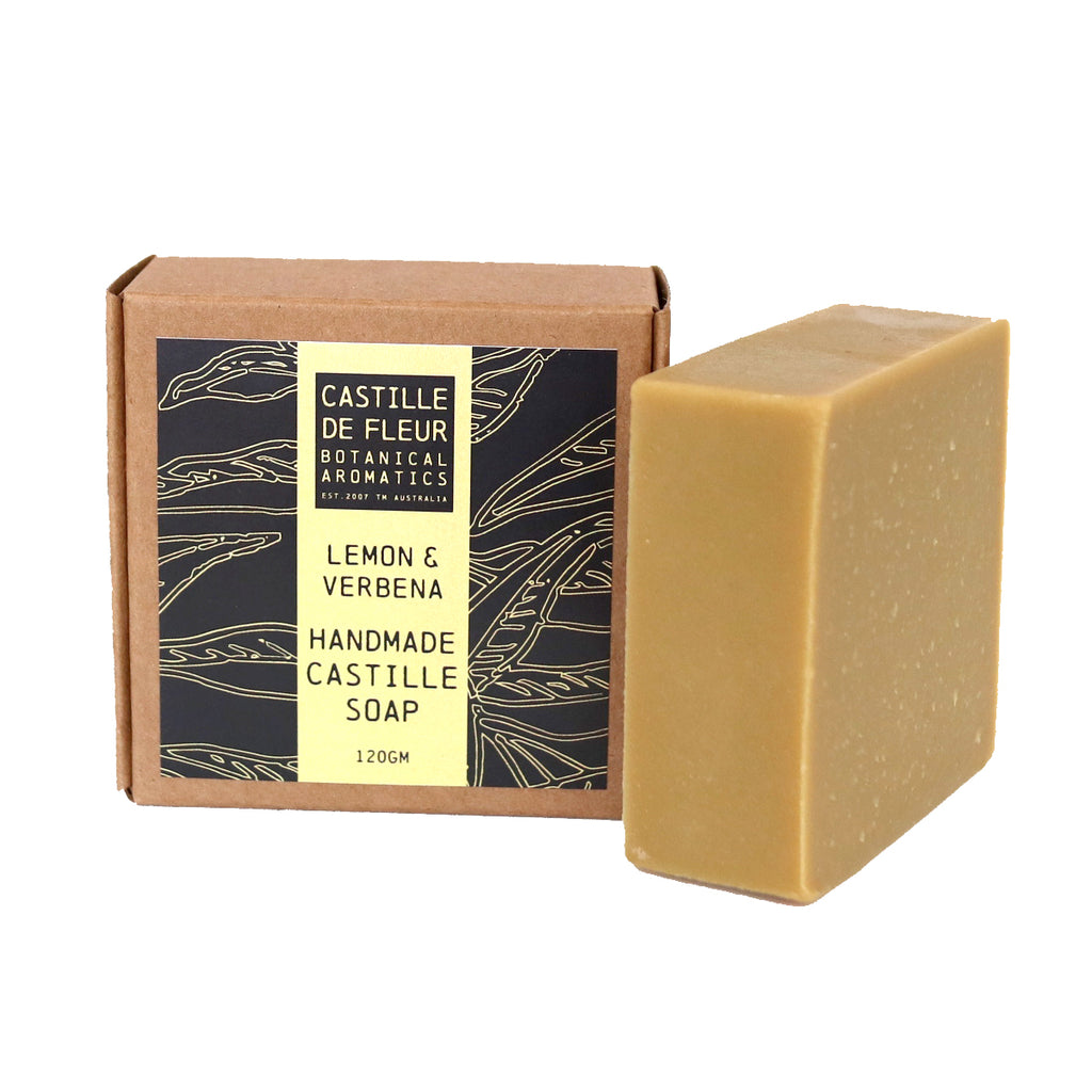 Lemon & Verbena Castille Soap (120gm)