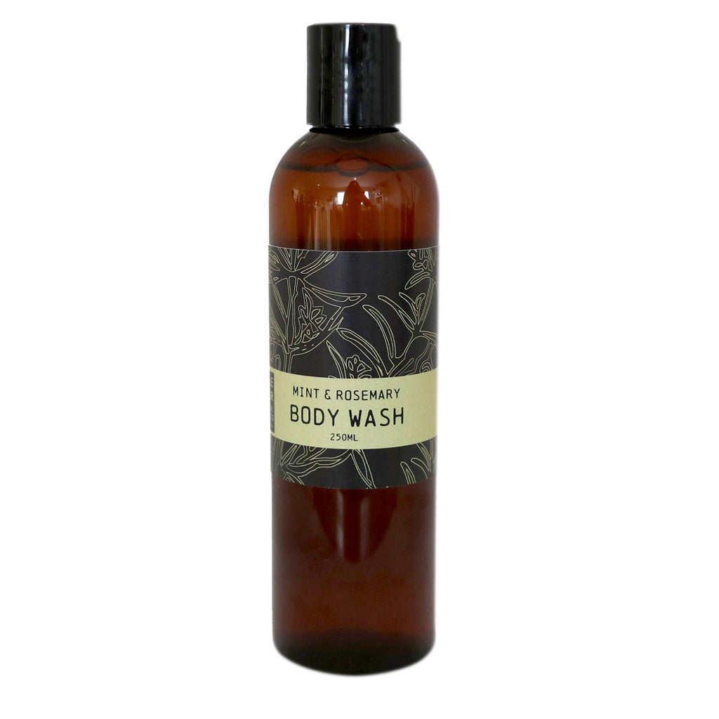 Mint & Rosemary Body Wash (250ml)