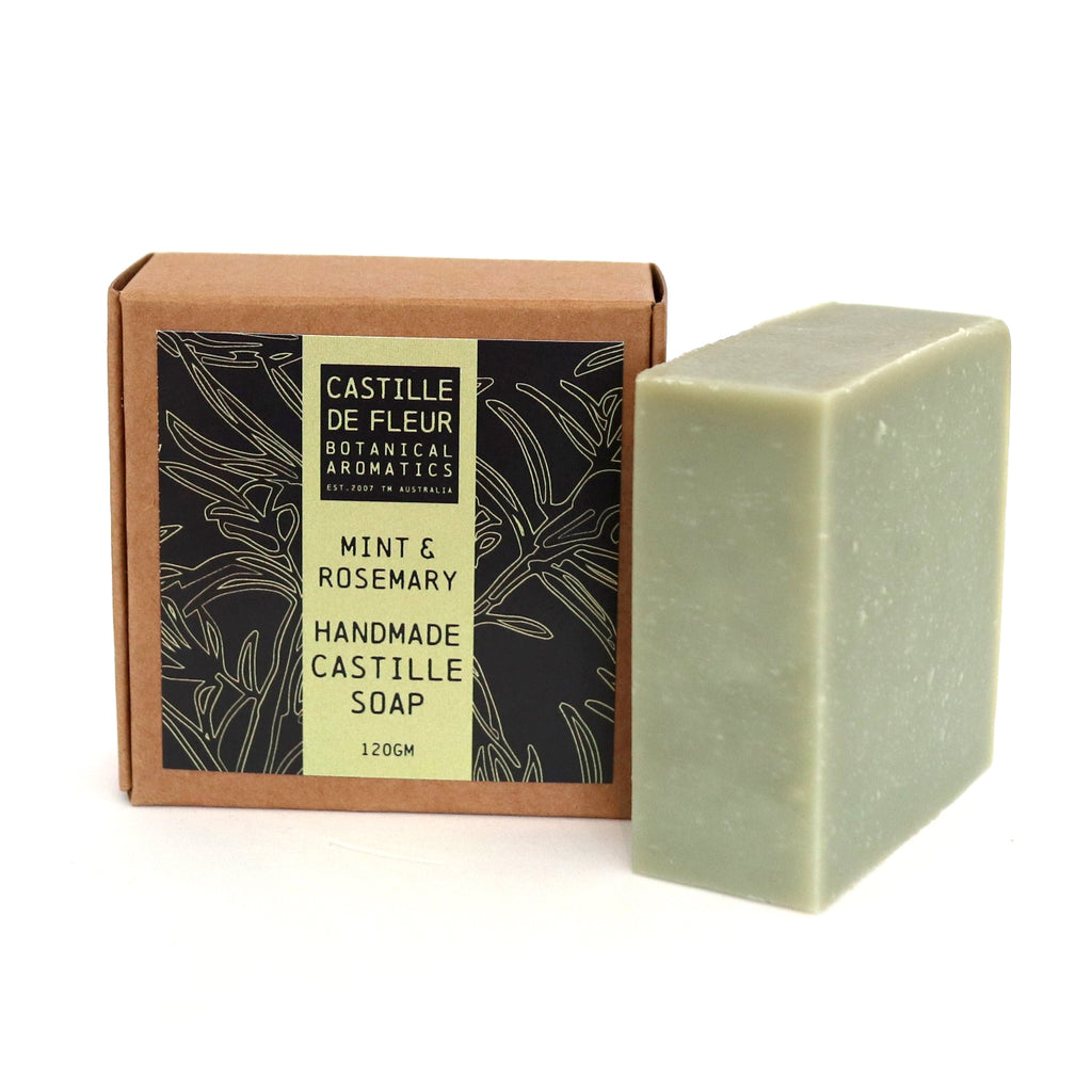 Mint & Rosemary Castille Soap (120gm)