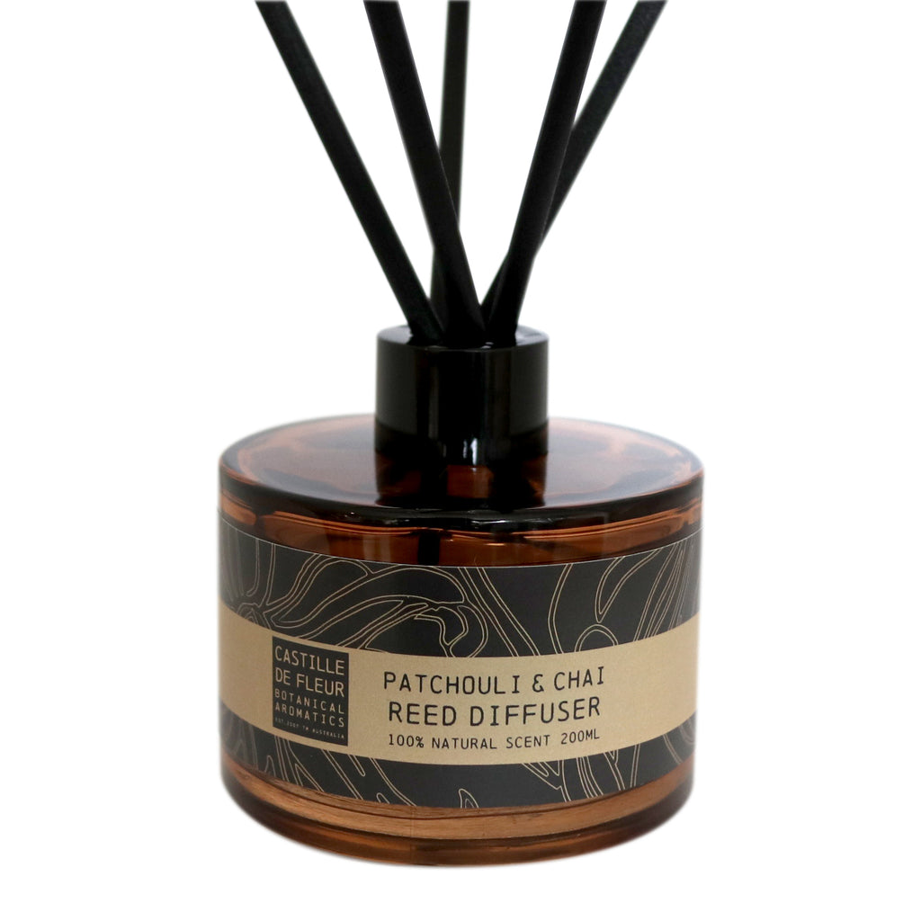 Patchouli & Chai Reed Diffuser (200ml)